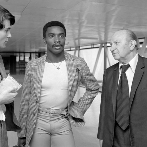 Soccer - Laurie Cunningham - Real Madrid Transfer - Heathrow Airport