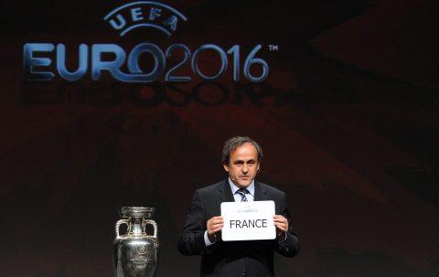 France - Designation du pays organisateur de Euro 2016 Euro2016